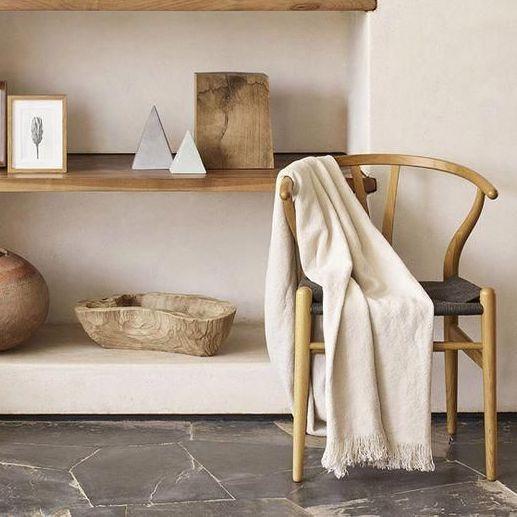 chaise et décoration bois