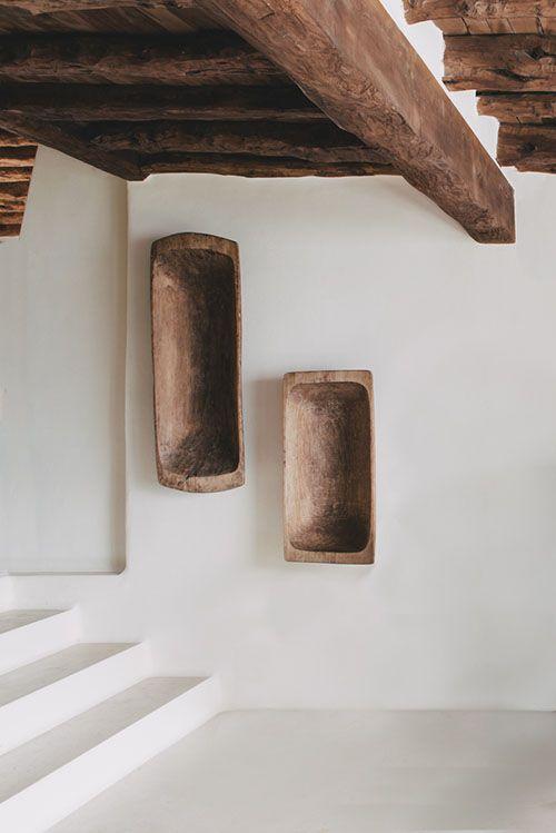 niches en bois